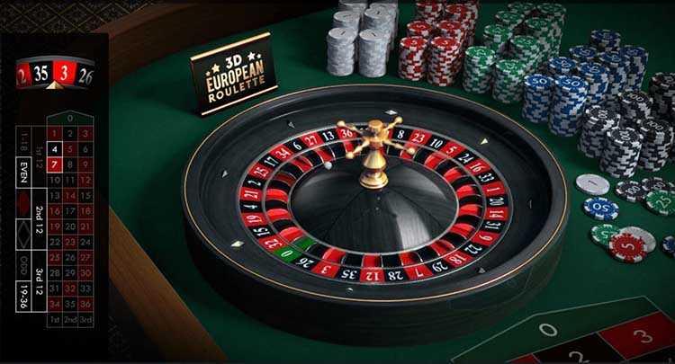 Online european roulette real money
